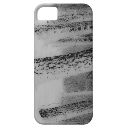 Caso del iPhone 5 de los árboles del invierno iPhone 5 Protector
