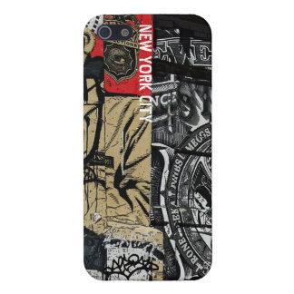 Caso del iPhone 5 de los artes de la calle de la p iPhone 5 Carcasas