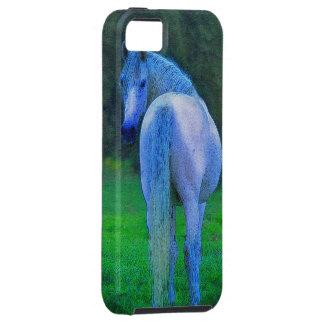 Caso del iPhone 5 de los Caballo-amantes blancos d iPhone 5 Case-Mate Cárcasa