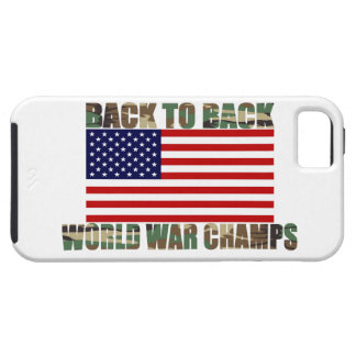 Caso del iPhone 5 de los campeones de la guerra iPhone 5 Fundas