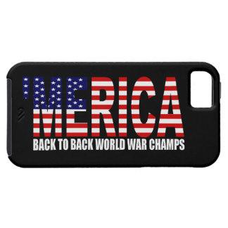 'Caso del iPhone 5 de los campeones de la guerra iPhone 5 Fundas