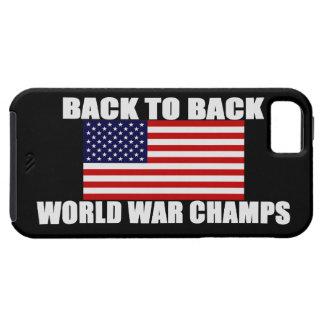 Caso del iPhone 5 de los campeones de la guerra Funda Para iPhone 5 Tough