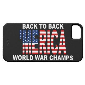 Caso del iPhone 5 de los campeones de la guerra m iPhone 5 Case-Mate Cárcasas