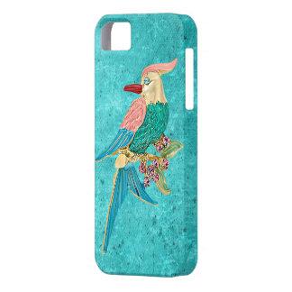 Caso del iPhone 5 de los copos de nieve de la turq iPhone 5 Case-Mate Carcasa