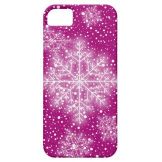 Caso del iPhone 5 de los copos de nieve iPhone 5 Case-Mate Fundas