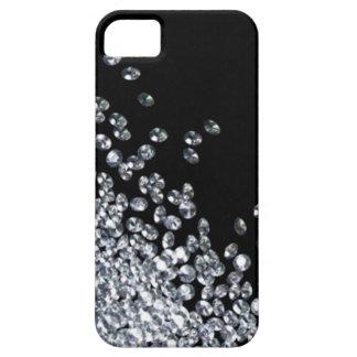 Caso del iPhone 5 de los diamantes iPhone 5 Case-Mate Cobertura