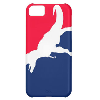 Caso del iPhone 5 de los dinosaurios MLB Funda Para iPhone 5C