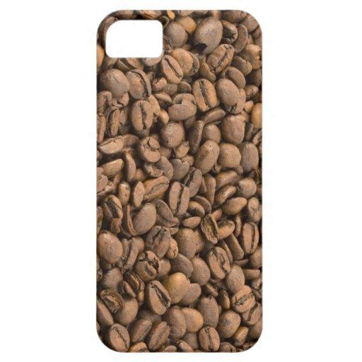 Caso del iPhone 5 de los granos de café iPhone 5 Fundas