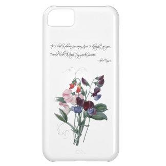 Caso del iPhone 5 de los guisantes de olor del Funda Para iPhone 5C