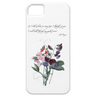 Caso del iPhone 5 de los guisantes de olor del iPhone 5 Carcasas