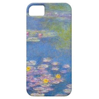 Caso del iPHone 5 de los lirios de agua amarilla d iPhone 5 Carcasas
