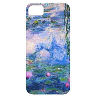 Caso del iPhone 5 de los lirios de agua de Monet iPhone 5 Fundas