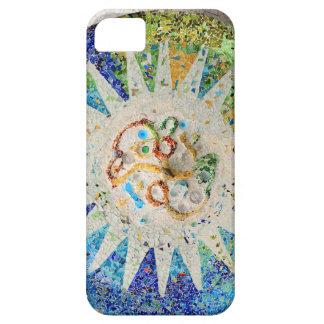 Caso del iPhone 5 de los mosaicos de Guell del Funda Para iPhone SE/5/5s