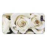 Caso del iPhone 5 de los rosas blancos iPhone 5 Cobertura