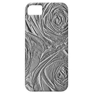 Caso del iPhone 5 de los rosas de la plata iPhone 5 Fundas