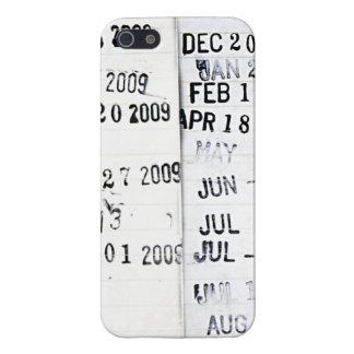 Caso del iPhone 5 de los sellos de fecha de la bib iPhone 5 Funda