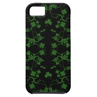 Caso del iPhone 5 de los tréboles y de los remolin iPhone 5 Case-Mate Cobertura
