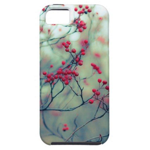 Caso del iPhone 5 de los Winterberries iPhone 5 Case-Mate Cobertura