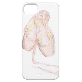 Caso del iPhone 5 de los zapatos de ballet iPhone 5 Fundas