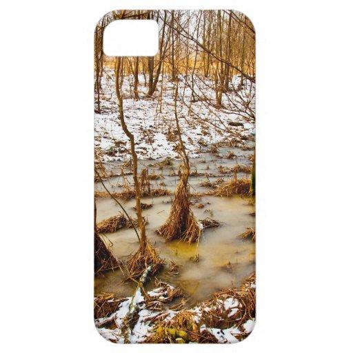 Caso del iPhone 5 de maderas del duende iPhone 5 Funda