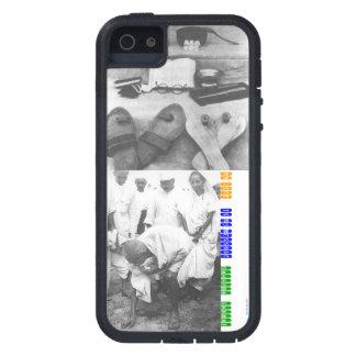 Caso del iPhone 5 de MAHATMA GANDHI del VINTAGE (f iPhone 5 Cárcasa