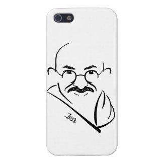 Caso del iPhone 5 de Mahatma Gandhi iPhone 5 Carcasas