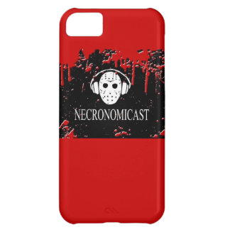 Caso del iPhone 5 de Necronomicast - rojo