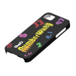 Caso del iphone 5 de NumberWang iPhone 5 Case-Mate Cárcasa