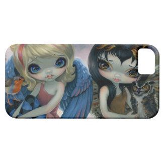 """Caso del iPhone 5 de """"Owlyn y de Robyn"""" iPhone 5 Carcasa"""