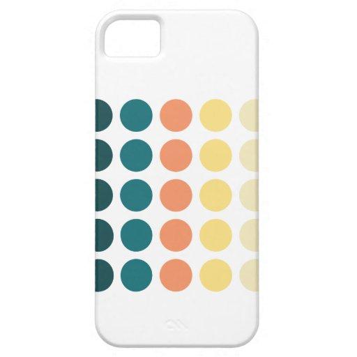 Caso del iPhone 5 de Patternism™/puntos ideales Funda Para iPhone SE/5/5s