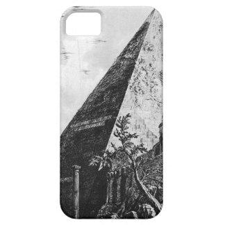 Caso del iphone 5 de Piranesi Pyramide iPhone 5 Carcasas