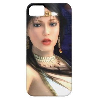 Caso del iPhone 5 de princesa Sci-Fi de la iPhone 5 Carcasas