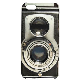 Caso del iPhone 5 de Rolleiflex de la cámara del v