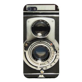 Caso del iPhone 5 de Rolleiflex de la cámara del v iPhone 5 Carcasa