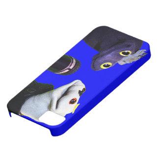 Caso del iPhone 5 de Sifl y de Olly iPhone 5 Case-Mate Cárcasas