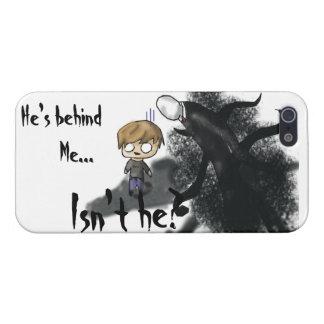 Caso del iPhone 5 de Slenderman Pewdie iPhone 5 Carcasas