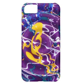 Caso del iPhone 5 de Splat de la pintura de la ond