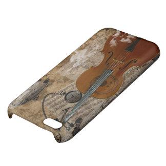 Caso del iPhone 5 de Steampunk del violoncelo