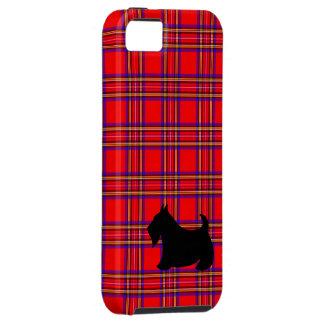 Caso del iPhone 5 de Terrier del escocés iPhone 5 Protectores