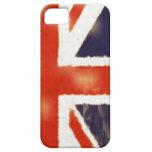 Caso del iPhone 5 de Union Jack del vintage de la iPhone 5 Funda
