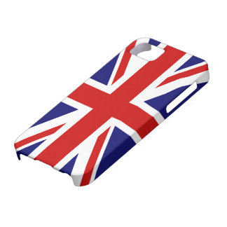 Caso del iPhone 5 de Union Jack iPhone 5 Funda