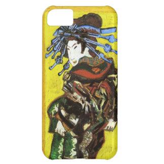 Caso del iPhone 5 de Van Gogh Japonaiserie Oiran Funda Para iPhone 5C