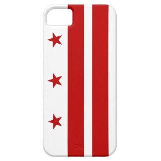 Caso del iPhone 5 de Washington D.C. Flag Funda Para iPhone 5 Barely There
