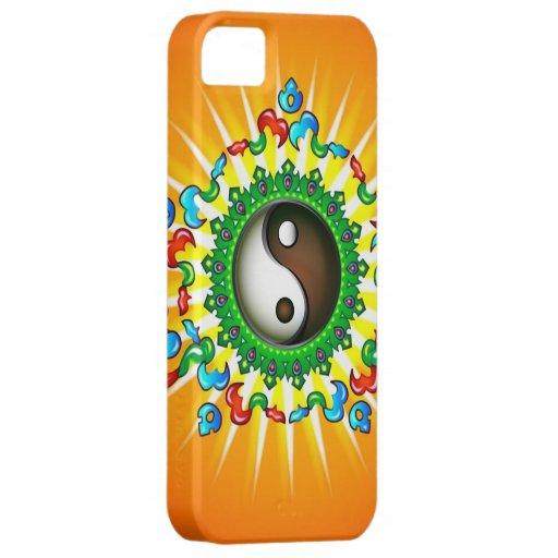 Caso del iPhone 5 de Yin Yang del Taoism iPhone 5 Carcasa