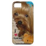Caso del iphone 5 de Yorkie iPhone 5 Cárcasas