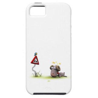 caso del iphone 5 del accidente del espolón funda para iPhone SE/5/5s