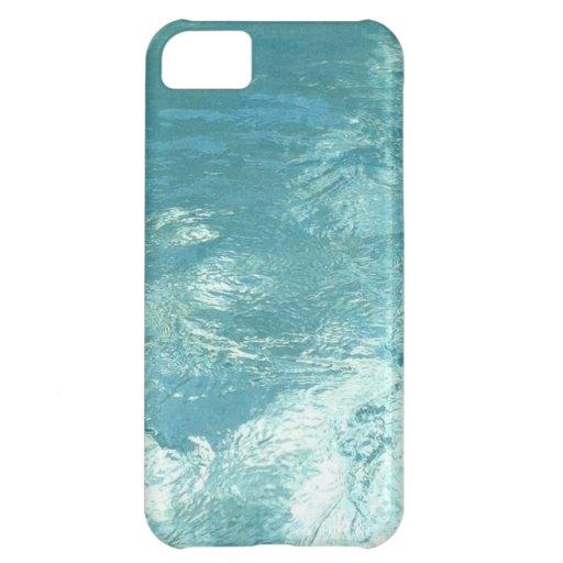 caso del iphone 5 del agua funda para iPhone 5C