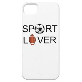 Caso del iPhone 5 del amante del deporte iPhone 5 Carcasa