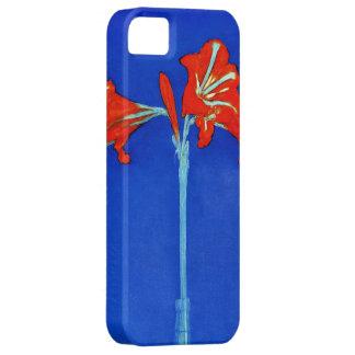 Caso del iPhone 5 del Amaryllis de Mondrian iPhone 5 Cobertura
