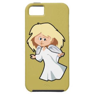 Caso del iPhone 5 del ángel del dibujo animado Funda Para iPhone SE/5/5s